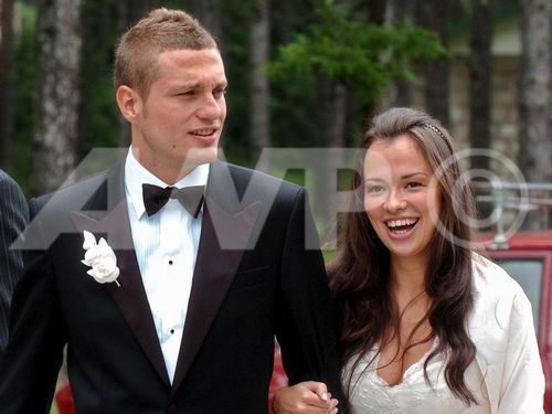 nemanja vidic's wife - wags Photo
