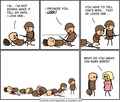 the telephone effect - cyanide-and-happiness photo