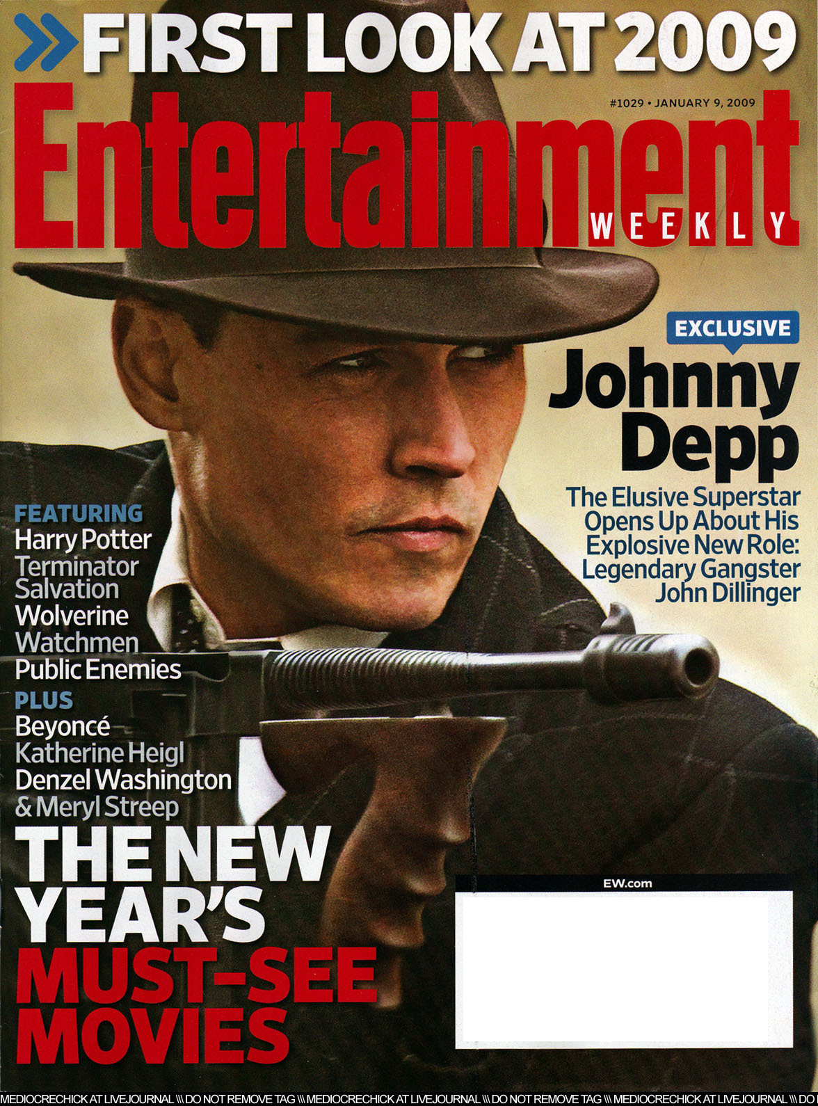 Johnny Depp images 2009 January Magazine - US Entertainment Weekly HD wallpaper and background ...