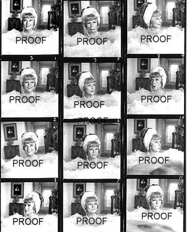 Agnes Moorehead Proof Sheet