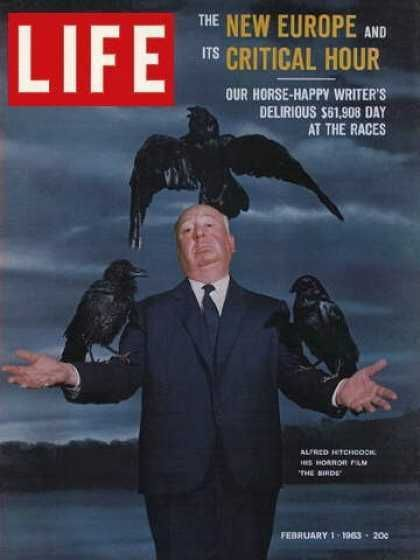 Alfred Hitchcock on the cover of Life Magazine