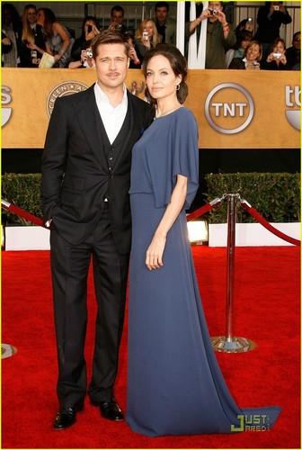 Angelina @ 2009 SAG Awards
