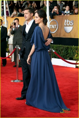 Angelina @ 2009 SAG Awards