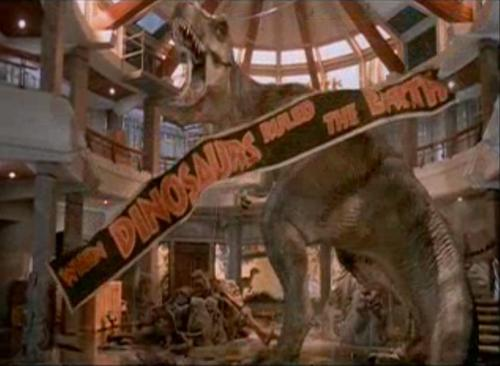 Jurassic Park پیپر وال possibly with a triceratops called Banner Scene