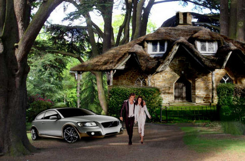 Bella and Edward's cottage Breaking Dawn người hâm mộ made