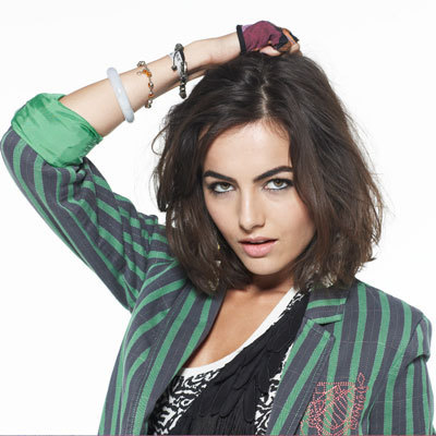Camilla Belle wallpaper possibly containing a portrait called Camilla Nylon Mag
