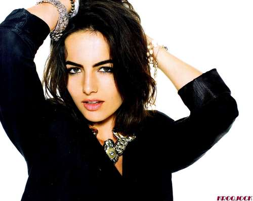 Camilla Belle wallpaper possibly containing a portrait entitled Camilla Nylon Mag