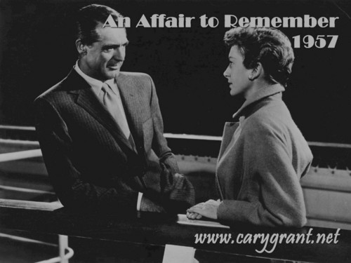 Cary Grant in An Affair To Remember