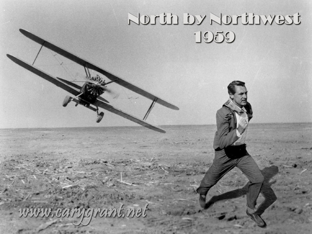 Cary Grant in North by North West
