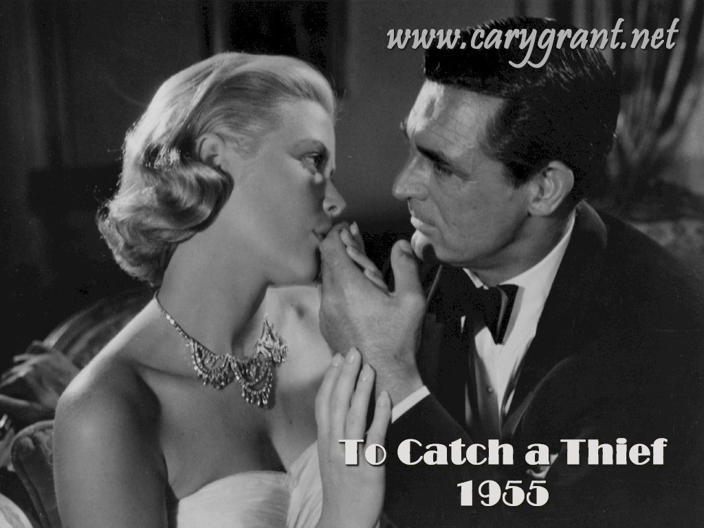 Cary and Grace in To Catch a Thief