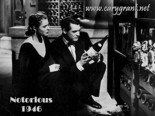 Cary and Ingrid in Notorious