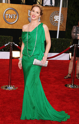 Christina at 2009 SAG awards