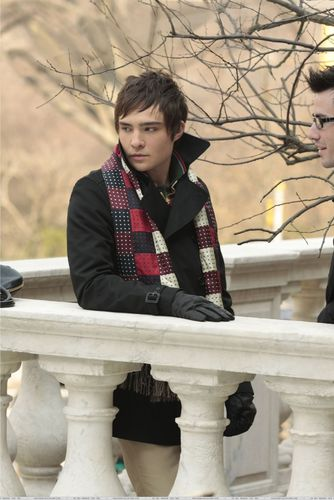 Chuck and his scarf