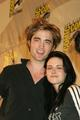 ComicCon  Kristen&Rob - twilight-series photo