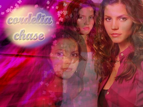 Buffy the Vampire Slayer wallpaper probably containing a sign entitled Cordelia Chase