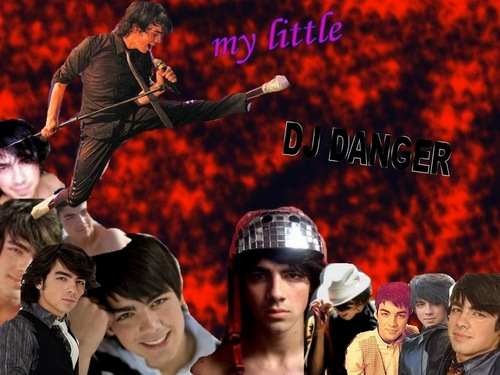 Joe Jonas Hintergrund entitled DJ DANGER