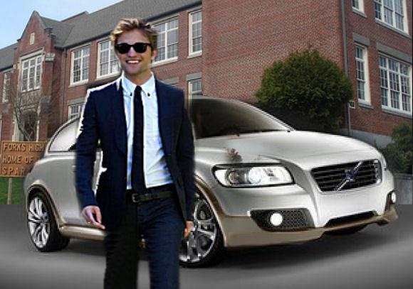 Edward Volvo at school...