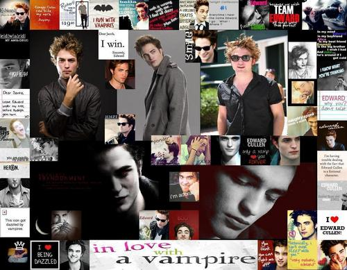 Edward Cullen wallpaper possibly containing a newspaper, a newsstand, and an electric refrigerator entitled Edward