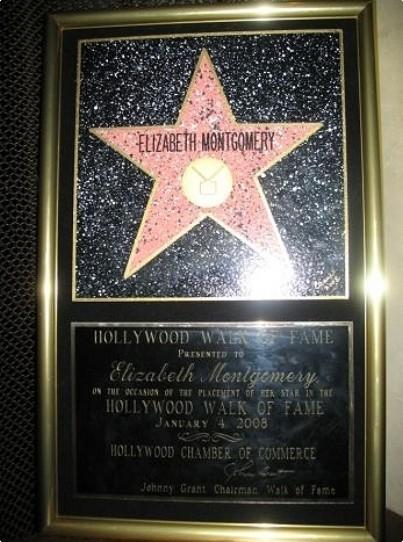 Elizabeth Montgomery's Walk Of Fame Star