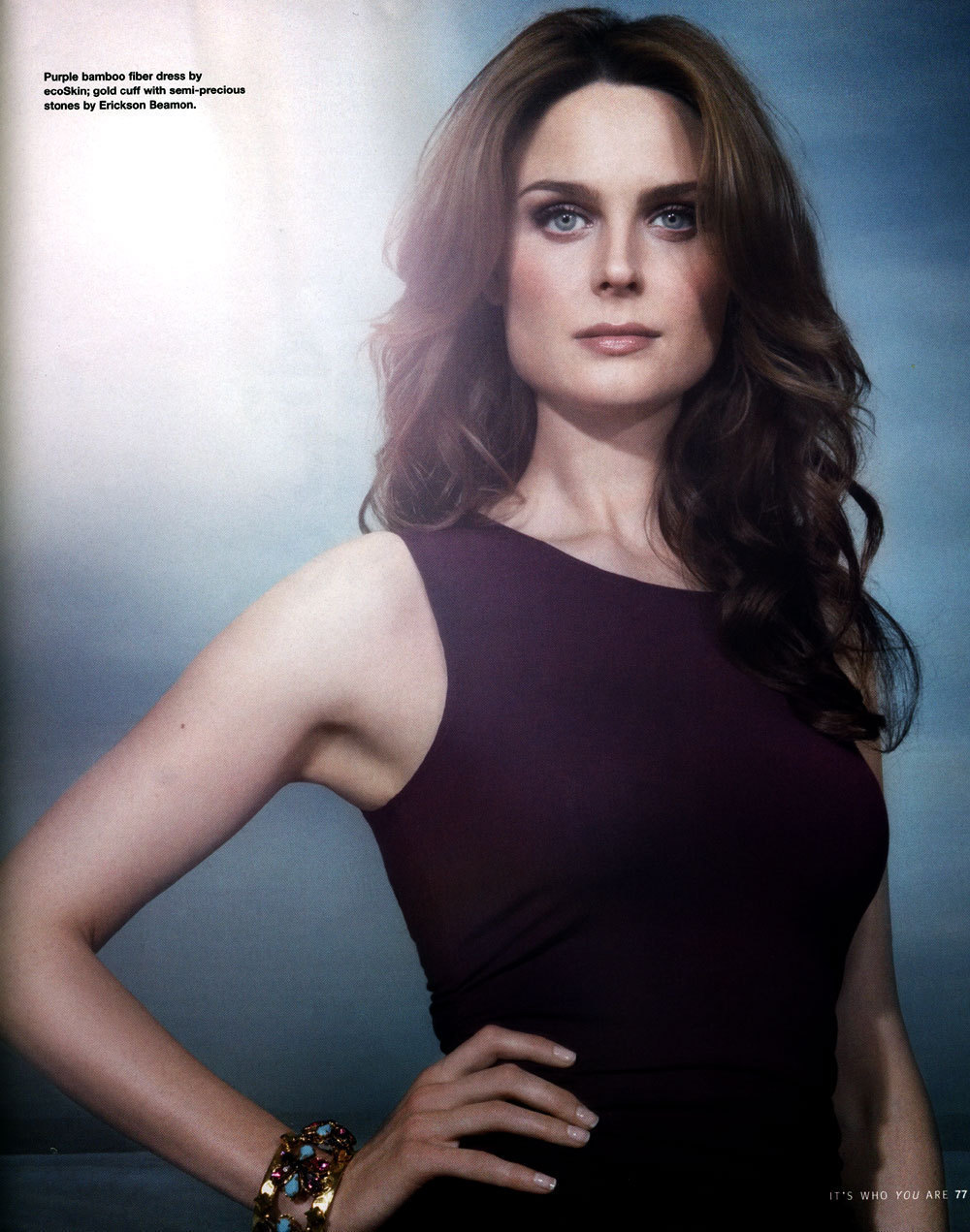 Emily Deschanel-Bones - The Girls of Bones Photo (3755999 ...