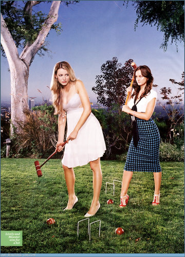 Blake & Leighton wallpaper with a croquet entitled Entertainment Weekly Photoshoot