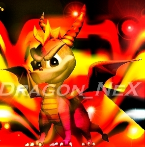 Spyro The Dragon پیپر وال possibly containing a آگ کے, آگ and عملی حکمت titled Firecano