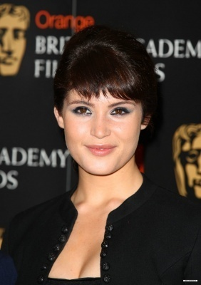 Gemma at the orange British Academy Film Awards