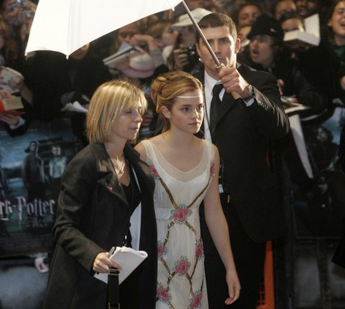 Goblet of feu Londres Premiere 2005