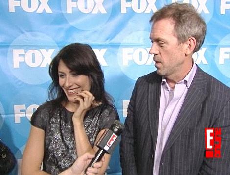 Hugh and Lisa at TCAs