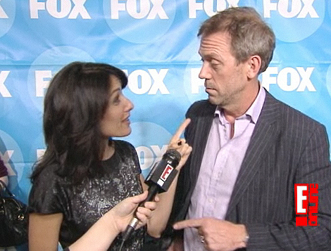 Hugh and Lisa at TCAs