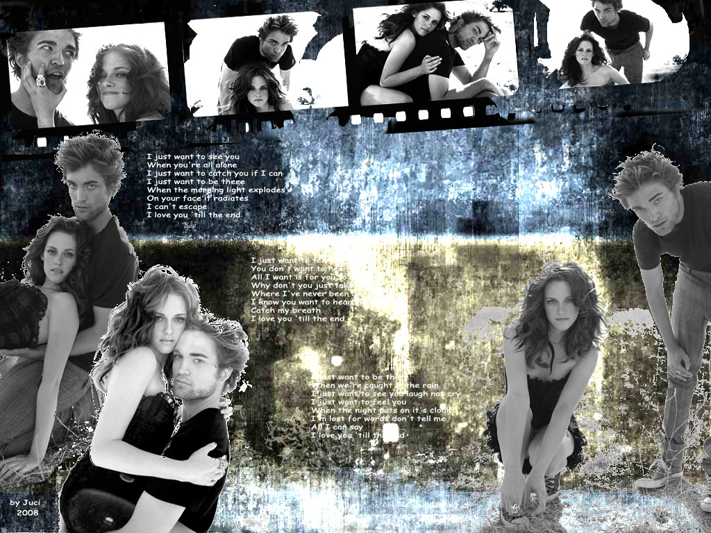 I love you till the end - Twilight Series Wallpaper (3705947) - Fanpop
