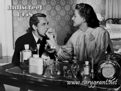 Ingrid Bergman and Cary Grant