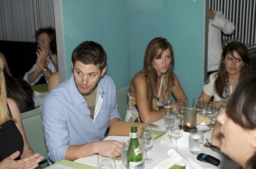Jensen and girlfriend Danneel Harris