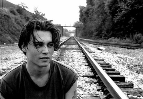 Johnny Depp wallpaper probably with a railroad tunnel titled Johnny <3