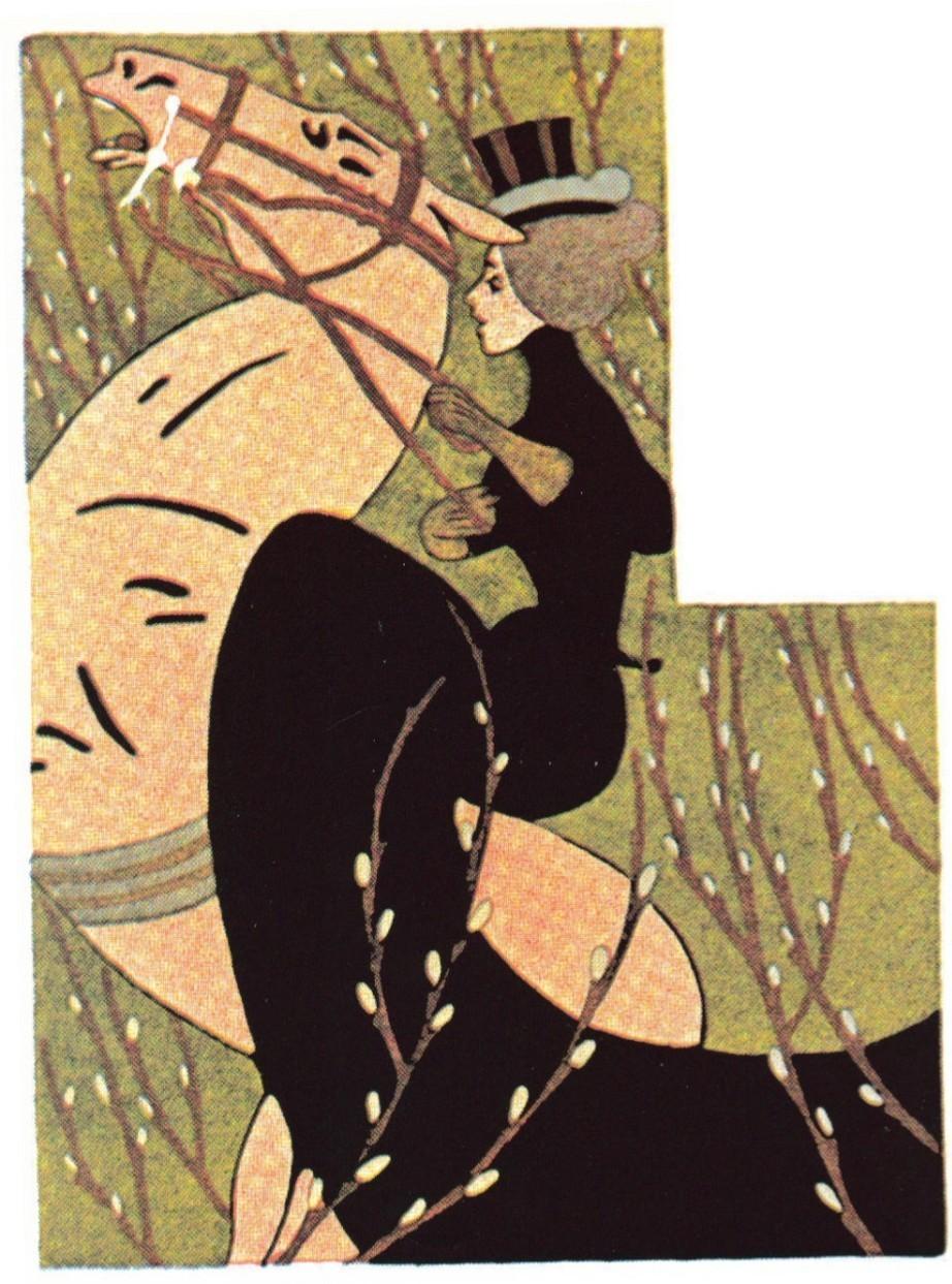 Kickass Art Nouveau Women