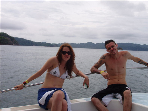 Kristen on Holiday