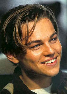 Leonardo Decaprio in 'Titanic'