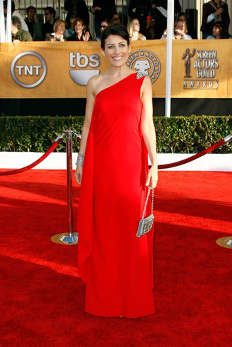 Lisa Edelstein @ the 15th Annual SAG Awards