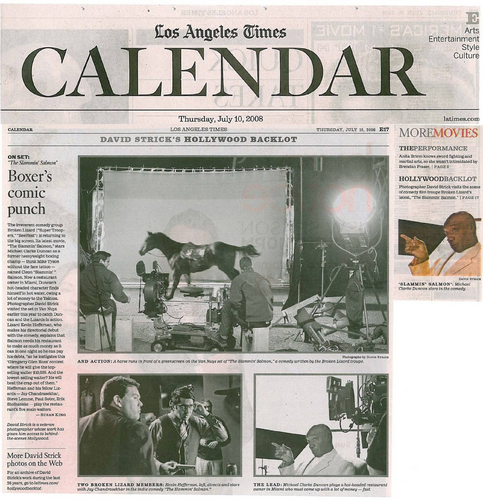 Los Angeles Times Calendar - July 10, 2008