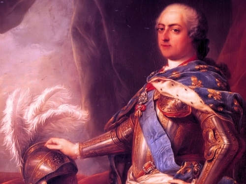 Louis XV of France wolpeyper