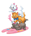 Marie and her brothers - marie-aristocats-disney photo