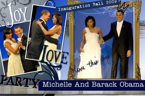 Michelle & Barack Obama!