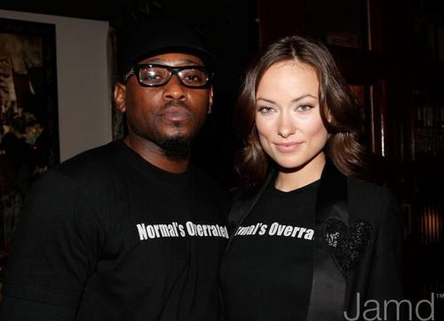 Omar and Olivia @ the 100th House Ep Party and NAMI Charity Celebration