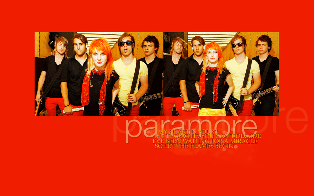 paramore wallpapers. Paramore (: