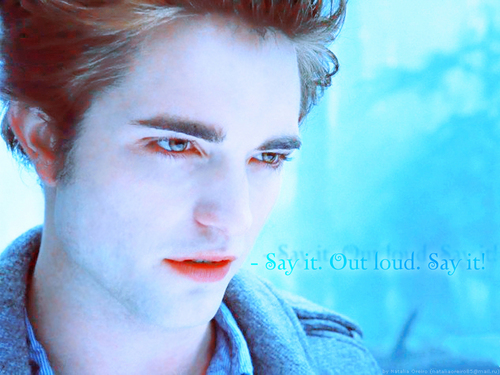 Edward my love!