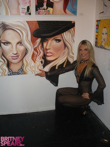 RuPaul Drags In Britney Art