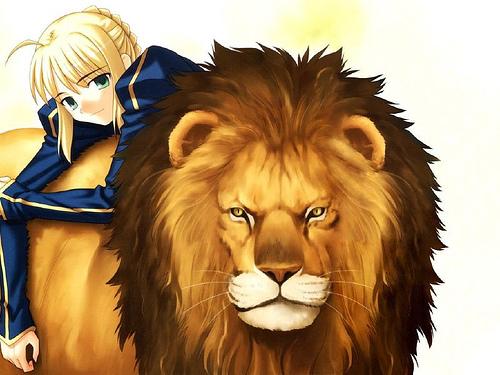 Saber & Lion