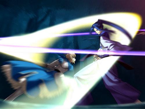 Saber vs Assassin