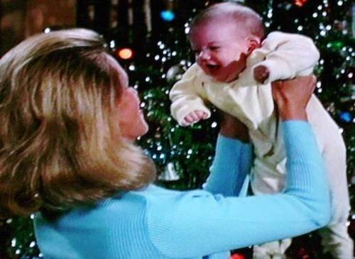 Samantha And Baby Adam - bewitched Photo