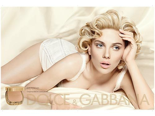 Scarlett's Dolce and Gabbana The Make up Ad